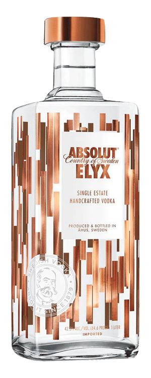 Absolut Elyx nieuwe fles