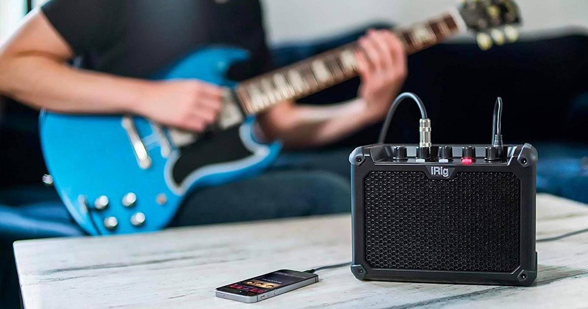 iRig Micro Amp gitaarversterker