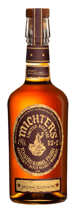 Michters Toasted Barrel Sour Mash whisky